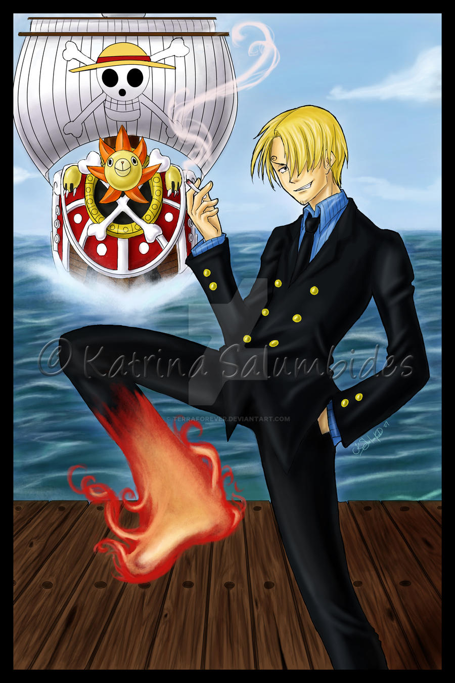 One Piece - Sanji v2 by TerraForever