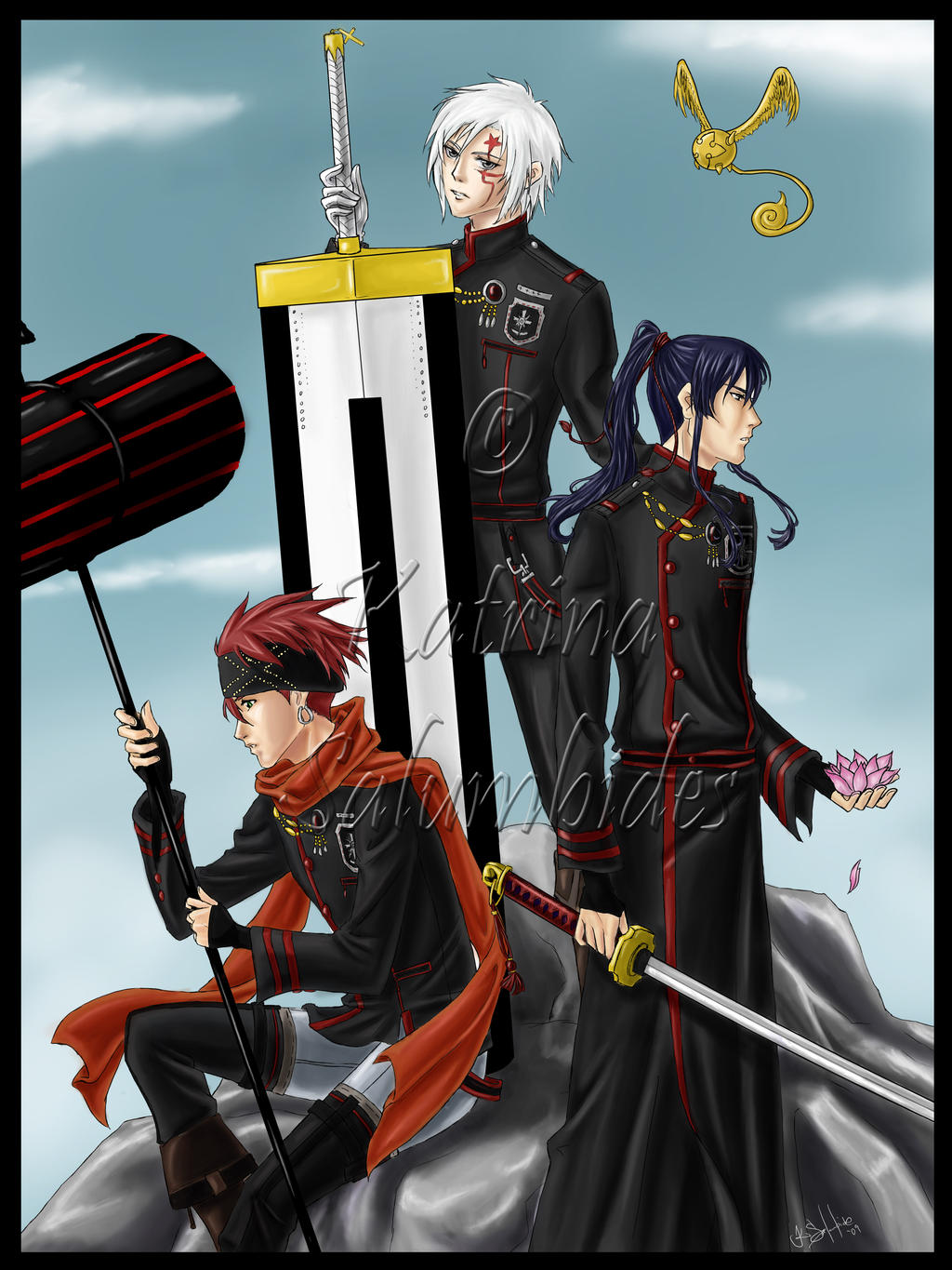 D. Gray-man Color by TerraForever