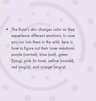 Boov home emotions pictures.
