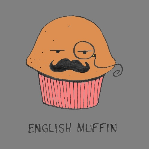 English muffin remake by razorthedragon on deviantart for Cute muffin drawing