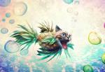 pineapple cat betta fish