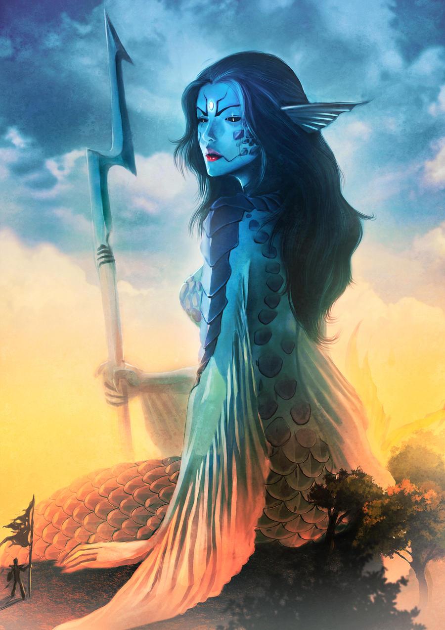 mermyth colossus by 2d-artist