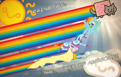 RAINBOWS: THE POWER OF AWESOME!