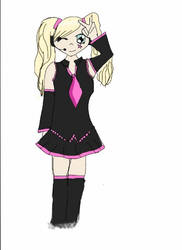 Me as vocaloid. by lolliglova