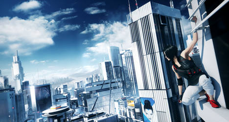 Mirror's Edge 2 Teaser Trailer Shot by l4dplayer