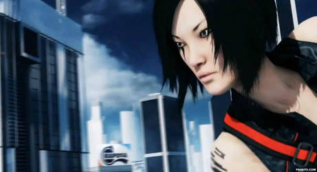 Mirror's Edge 2014 - Faith Connors close-up by l4dplayer
