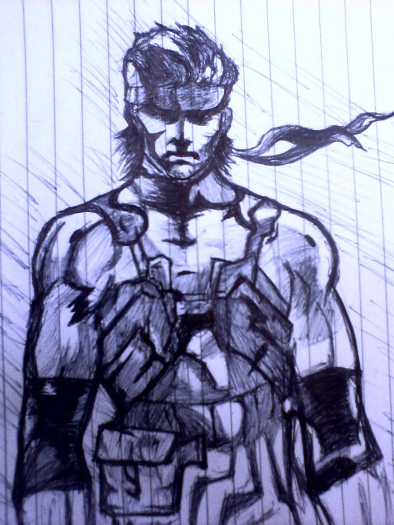 Solid Snake Mgs2 By L4dplayer On Deviantart