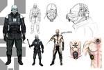 Half-Life 2: Combine Metropolice/Soldier concept