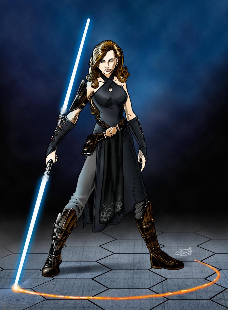 Grey Jedi by GardHelset on DeviantArt
