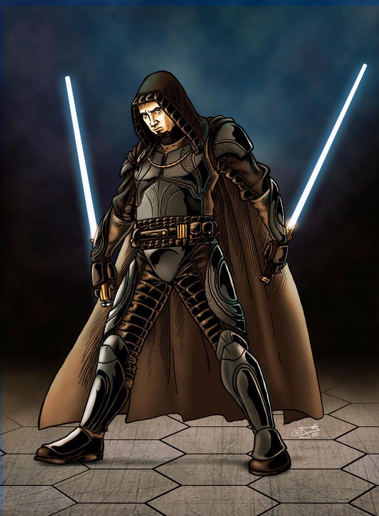 Grey Jedi II by GardHelset