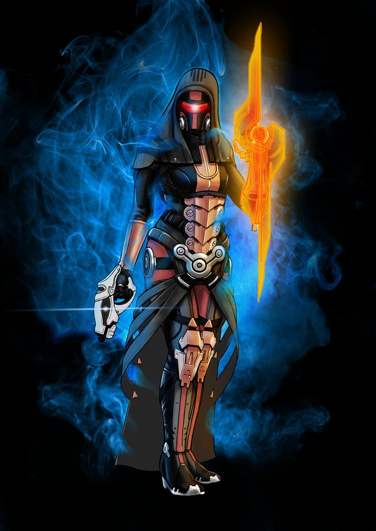 Mass Effect Villain: Revan by GardHelset
