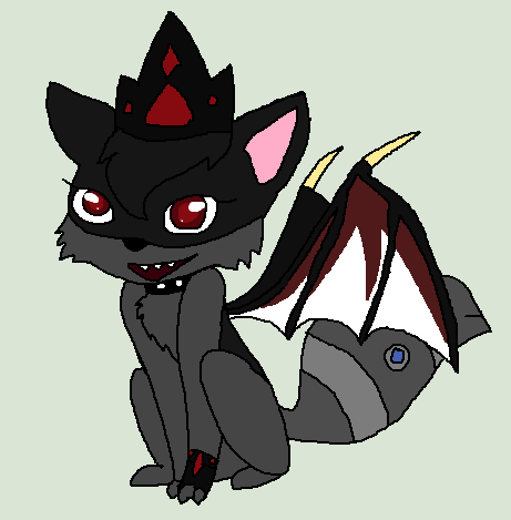 Dark Queen Mythical Arctic Fox of Animaljam by Pandonic on ...