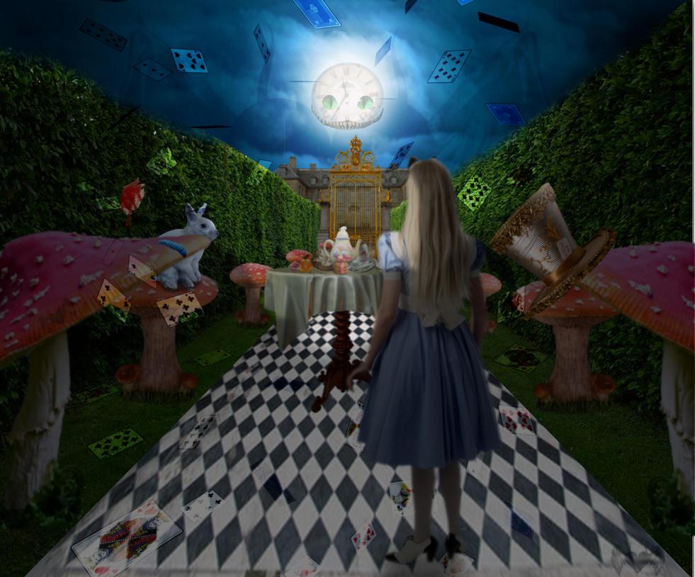 Alice en route by EbonyIrensis