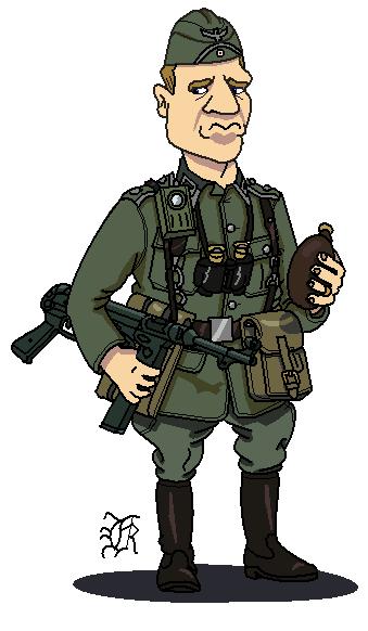 German Army Wwii Soldier By Darthpandanl On Deviantart