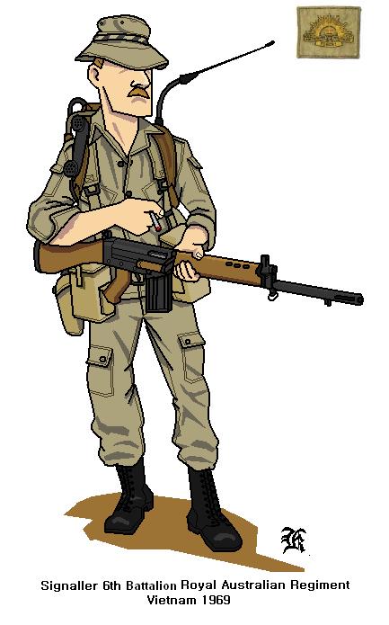 Australian Army Vietnam 1969 by darthpandanl