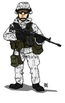 Finnish Army Jaeger
