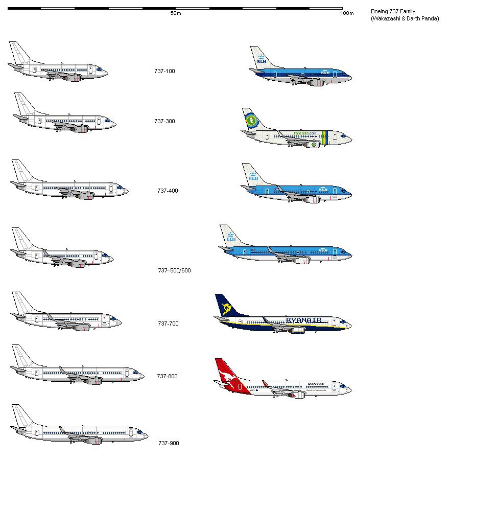 BOEING 737 Shipbucket by darthpandanl