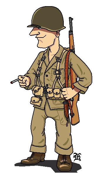 USMC 1942 by darthpandanl