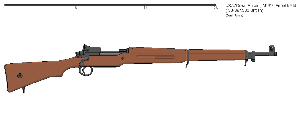 Gunbucket - M1917 Enfield by darthpandanl