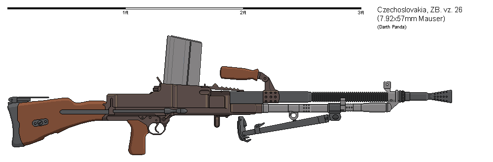 Gunbucket ZB vz 26 LMG by darthpandanl