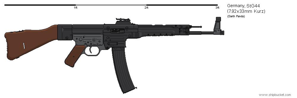 Gunbucket Sturmgewehr 44 by darthpandanl