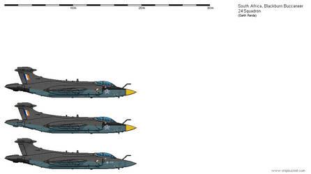 SAAF -  Blackburn Buccaneer by darthpandanl