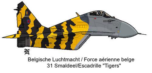 AU MIG-29 RBAF Tigermeet by darthpandanl