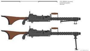 Gunbucket - M1919A6 Browning MG by darthpandanl