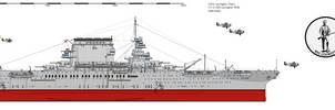 CV-2 Lexington 1936 by darthpandanl