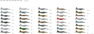 Northop F-5 Operators