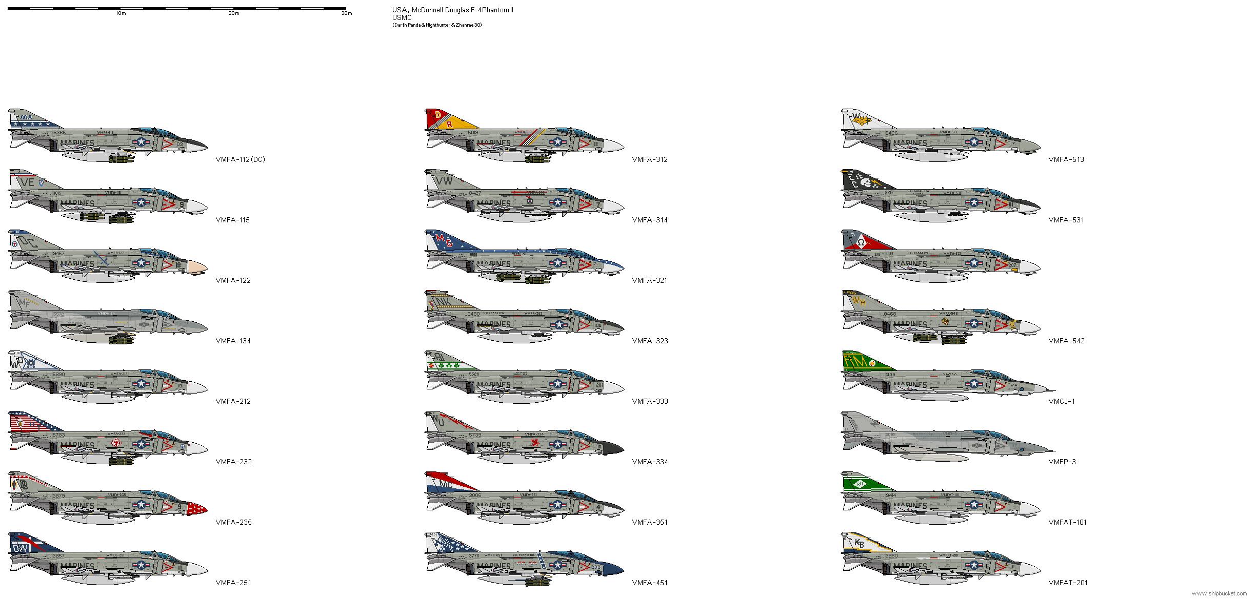 McDonnell Douglas F-4 Phantom II Society pictorial collector book Pilot bios