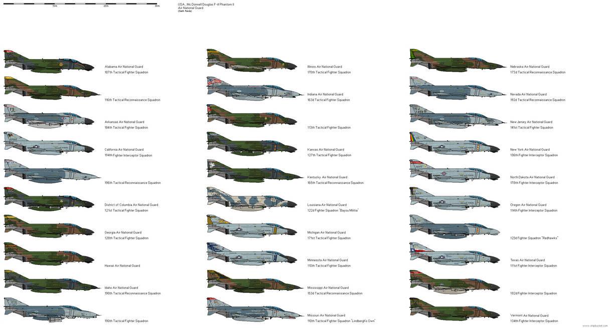 McDonnell Douglas F-4 Phantom Air National Guard by