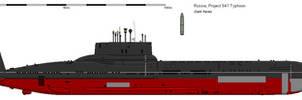 Project 941 Typhoon class Submarine