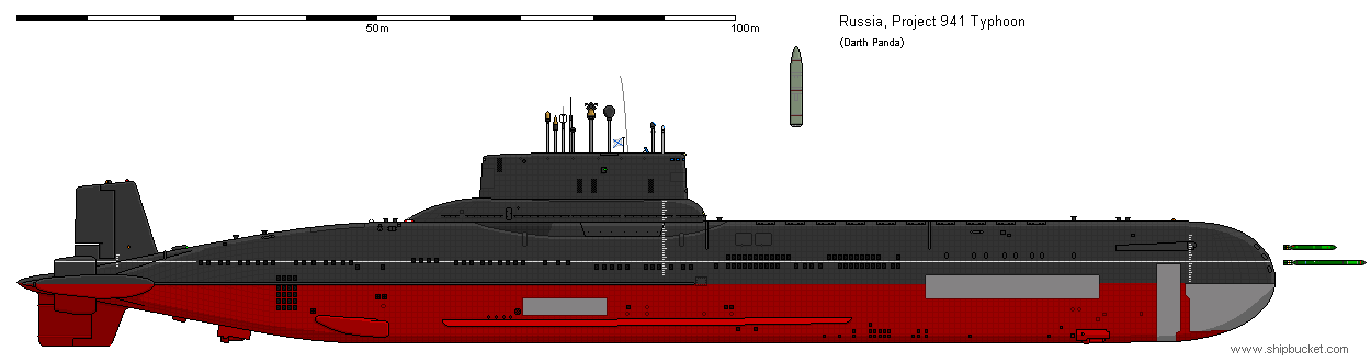 Project 941 Typhoon Class Submarine By Darthpandanl On Deviantart