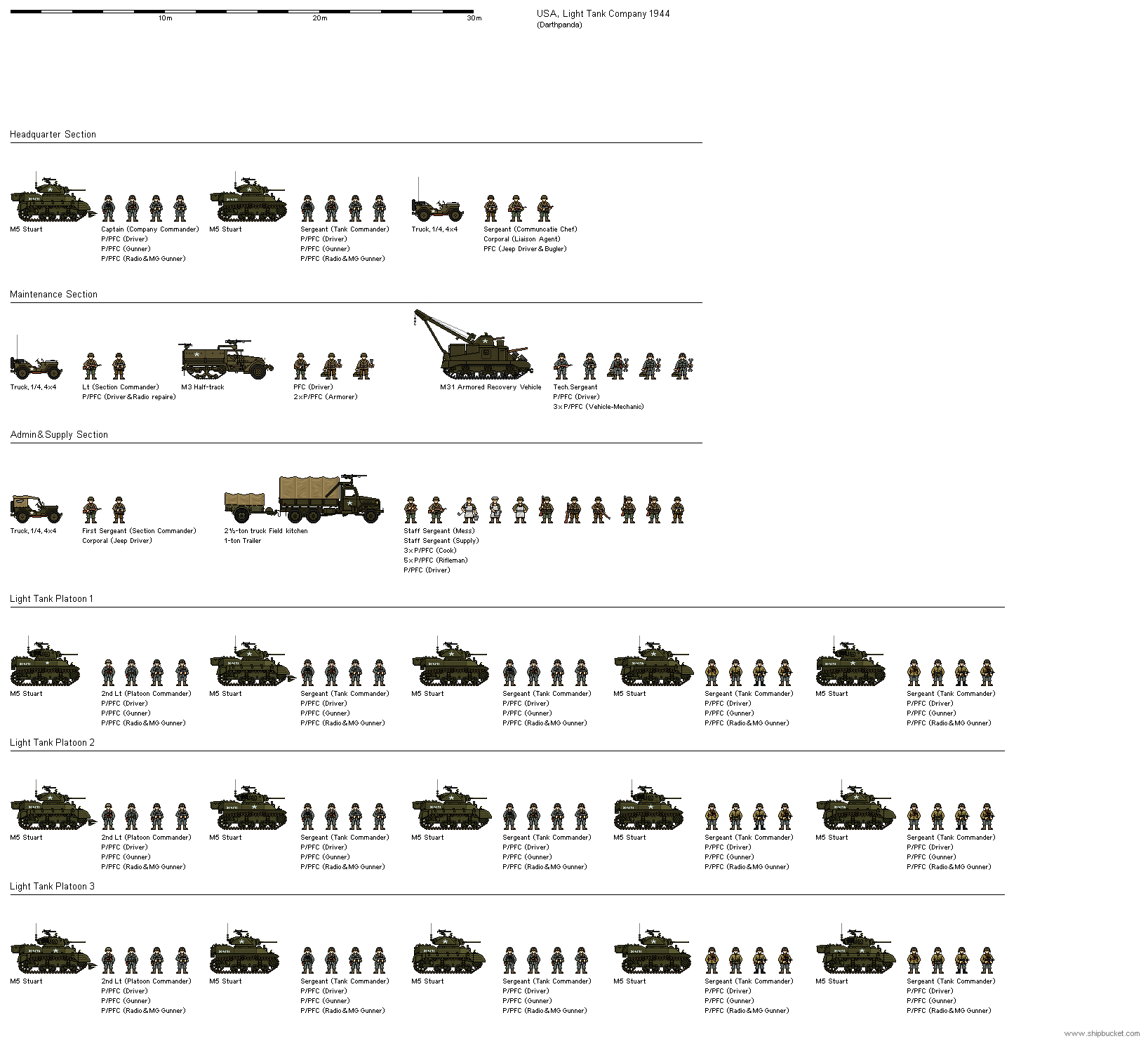 North Point Toyota >> US Light Tank Company 1944 by darthpandanl on DeviantArt