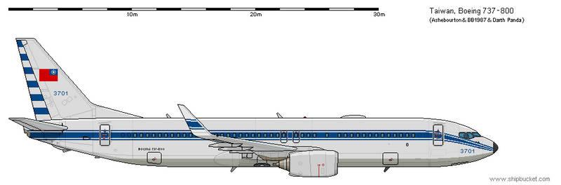 Boeing 737-800 - Taiwan