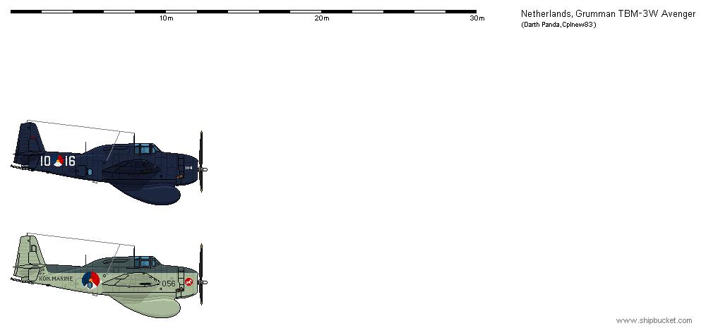 Grumman TBM-3W - NL by darthpandanl