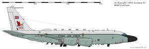 Boeing RC-135W Airseeker R1 - UK