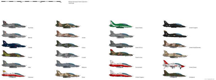BAE Hawk Operators by darthpandanl