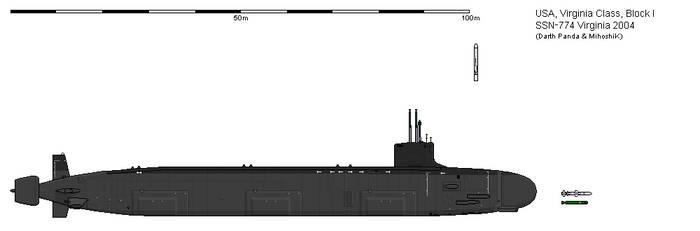 United States Virginia class submarine
