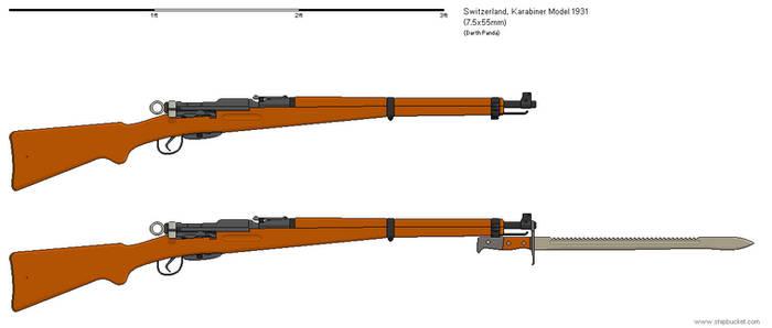 Gunbucket - Karabiner Model 1931