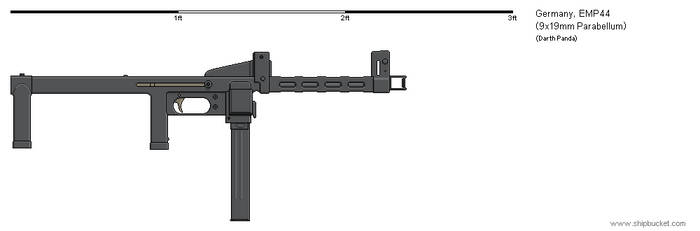 Gunbucket - EMP44 submachine gun