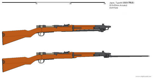 Gunbucket - Type 44 Cavalry Rifle