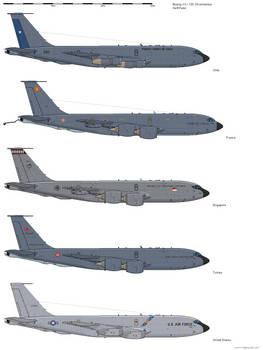Boeing KC-135 Stratotanker - Operators
