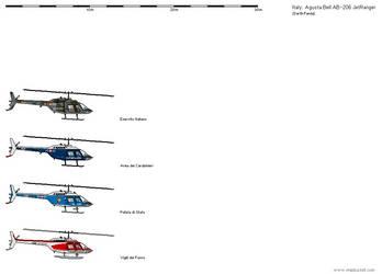 Agusta Bell 206 - Italy