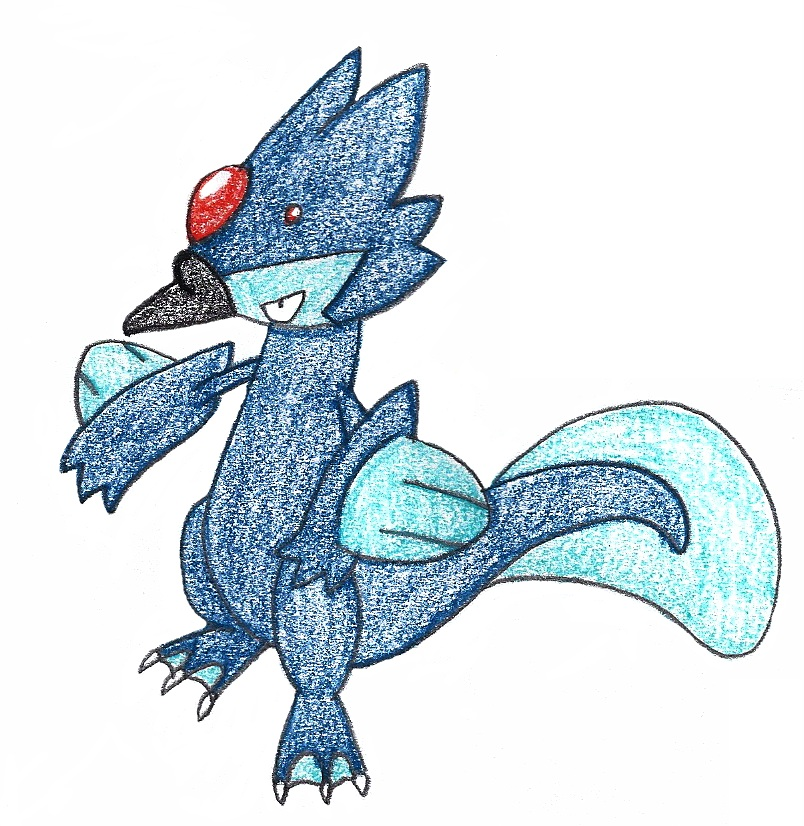 The gallery for --> Golduck Evolution