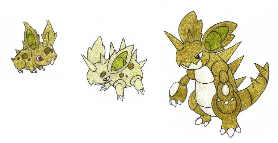 nidoran breeding - adopted by FrozenFeather on DeviantArt