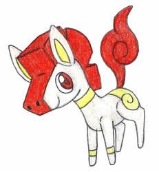 trojan pony by FrozenFeather