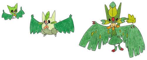 Bat Grass Starter by FrozenFeather