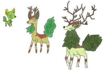 Deer Grass Starter by FrozenFeather